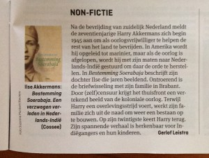 Artikel in Elsevier, 24 juli 2014