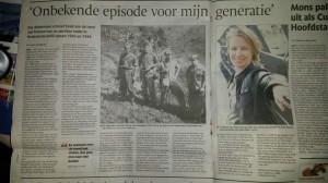 De Gelderlander, 8 januari 2015